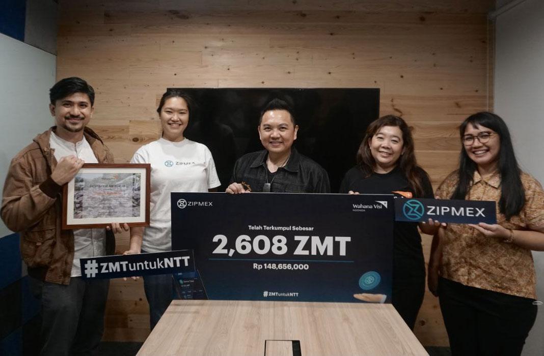 zipmex indonesia NTT