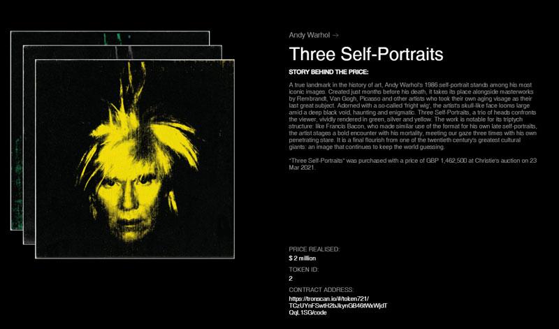 NFT Andy Warhol