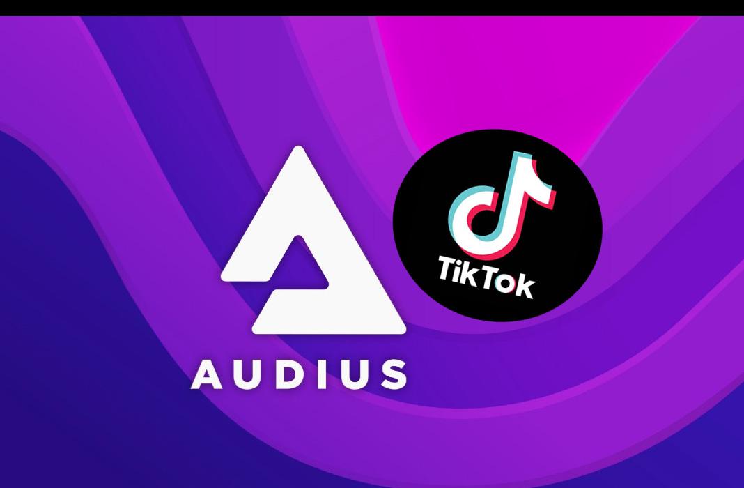 Audius Audio TIKTOK
